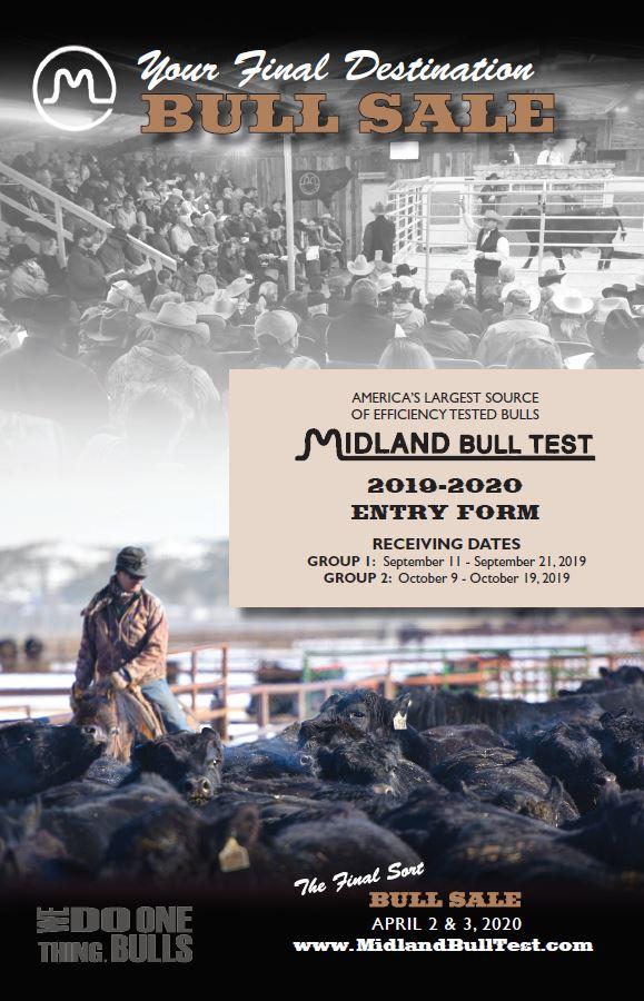 Midland Bull Test Entry Form